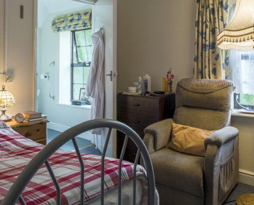 Living space at Fourways Residential House Nursing Home in Sandhurst, Berkshire