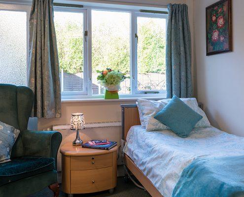 Bedrooms at Haldane House Nursing Home in Sandhurst, Berkshire