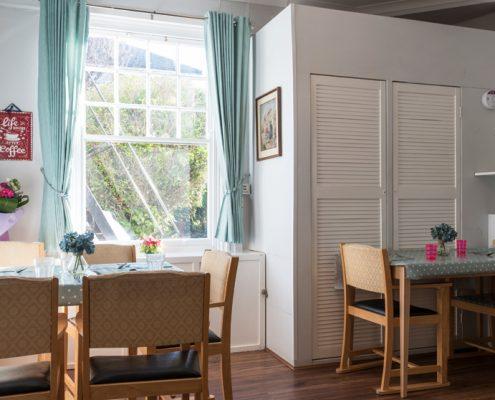 Dining Room at Haldane House Nursing Home in Sandhurst, Berkshire