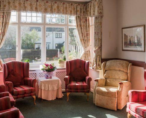 Communal Living Haldane House Nursing Home in Sandhurst, Berkshire