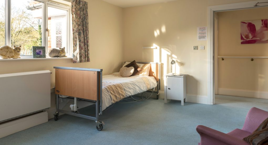Bedrooms at Longlea House Nursing Home in Maidenhead, Berkshire