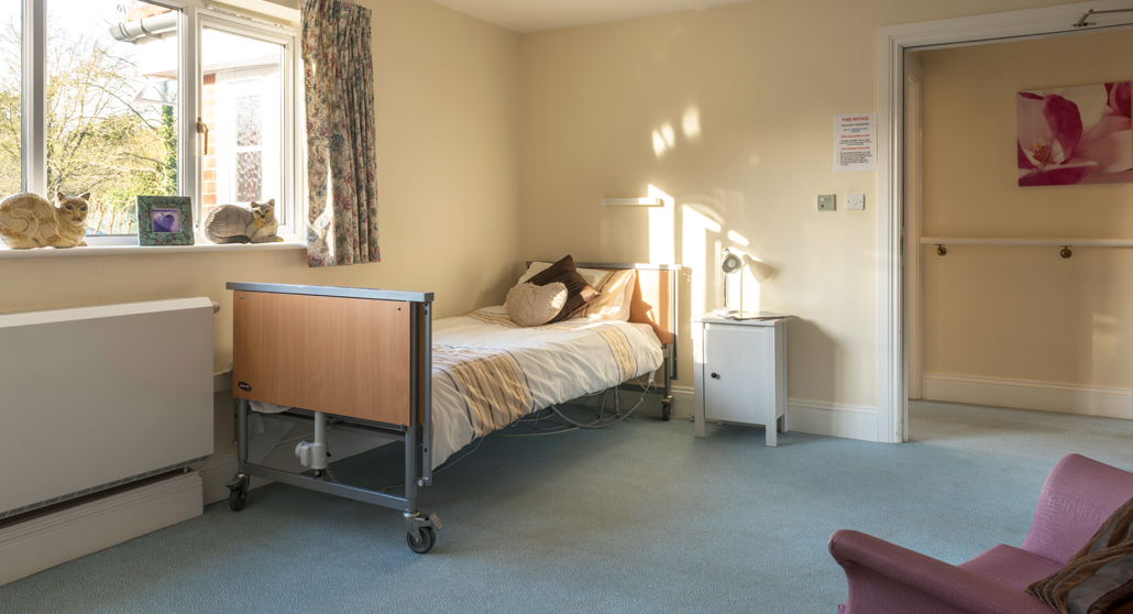 Bedrooms at Longlea House Nursing Home in Maidenhead, Berkshire
